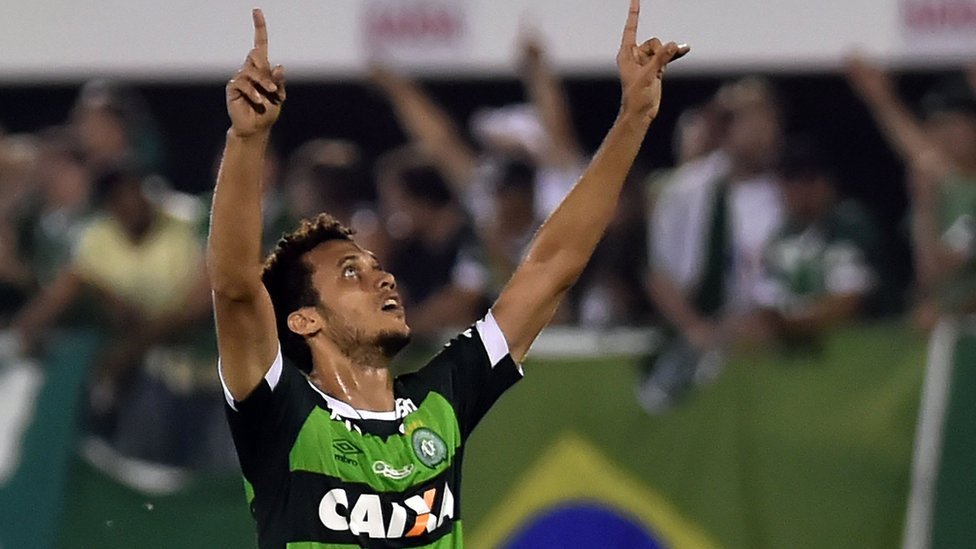 Chapecoense plane crash: Survivor 'may play football again'