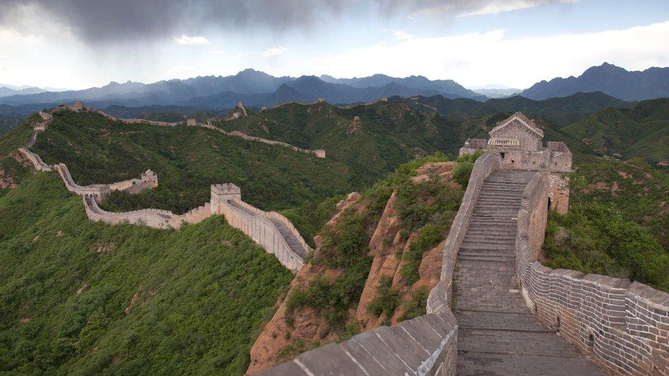 The Great Wall of China at Jingshangling