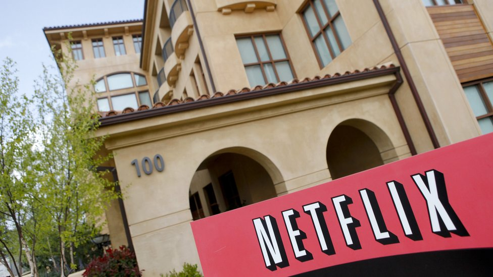 Sede de Netflix en California. Foto: Ryan Anson/AFP/Getty Images.