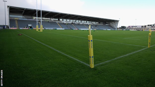 Glasses Frames Kingston Park Newcastle : BBC Sport - Paddy Ryan: Libourne prop signs for Newcastle ...