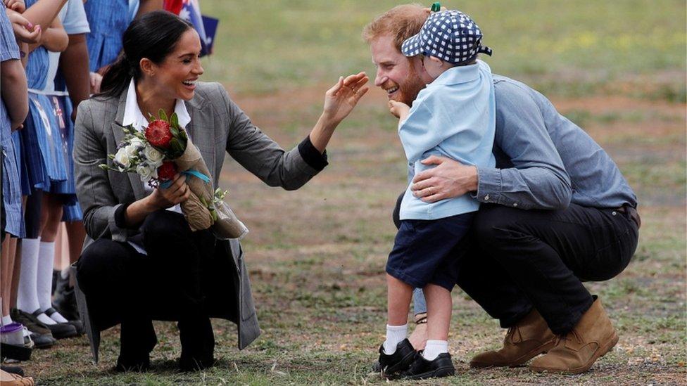 Royal baby: Looking back at Meghan's pregnancy