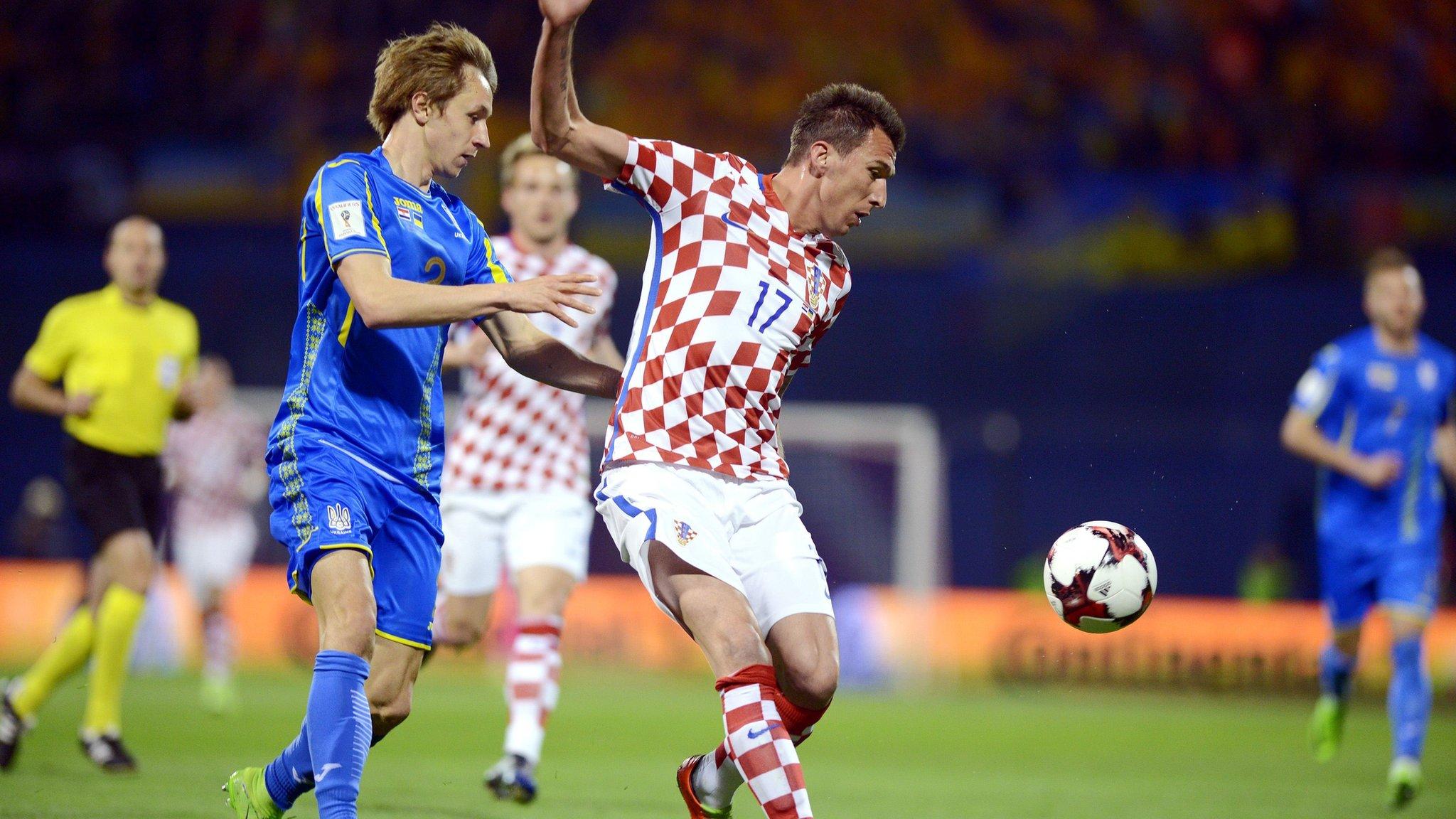 Збірна України програла Хорватії 0:1