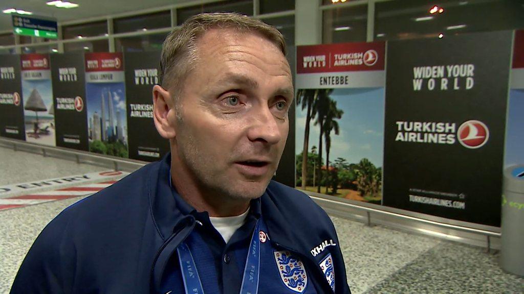 England winning 2022 World Cup 'not unrealistic' - U20s boss Paul Simpson