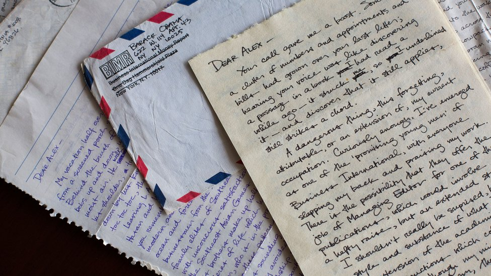 The letters Obama sent to college girlfriend