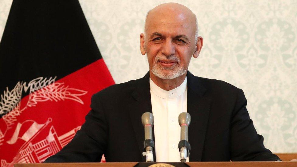 غني: د سولې خبرې به افغان حکومت پخپله کوي