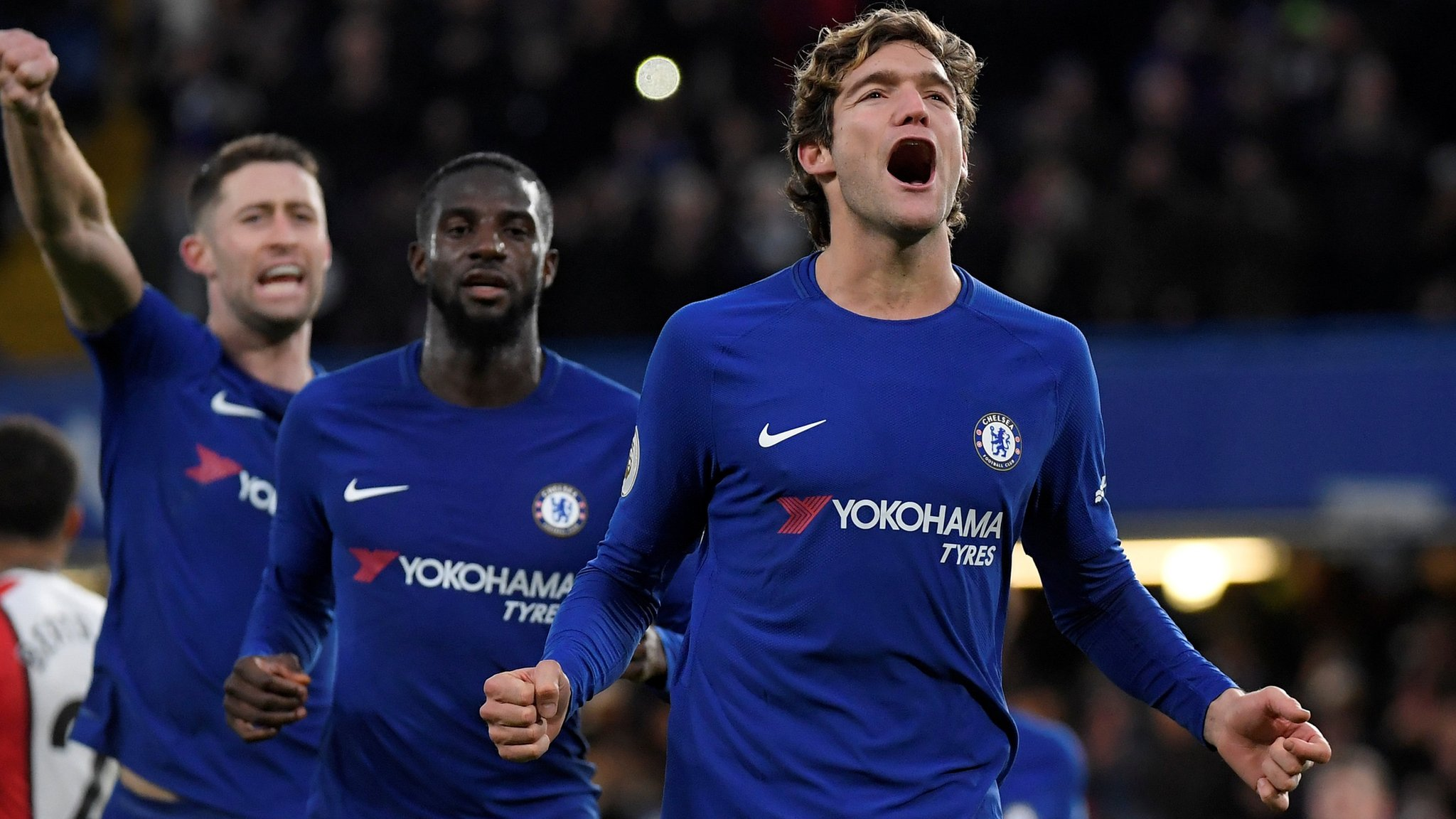 Chelsea winning run forgotten, says Conte after victory over Saints