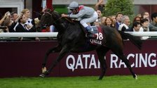 Treve winning the Prix de l'Arc de Triomphe