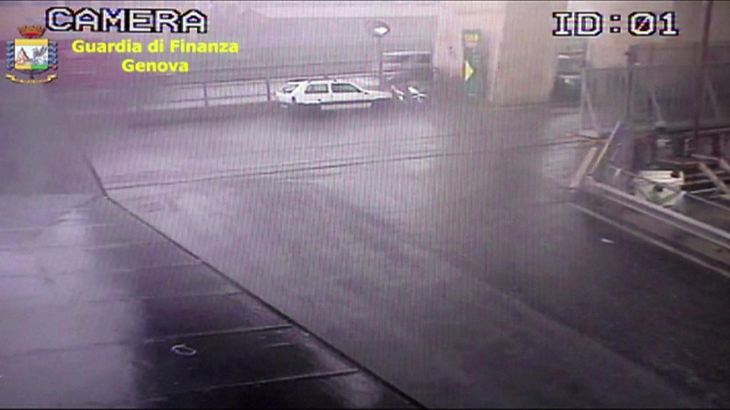 Italy bridge collapse: CCTV shows moment disaster struck