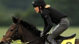 Victoria Pendleton riding out