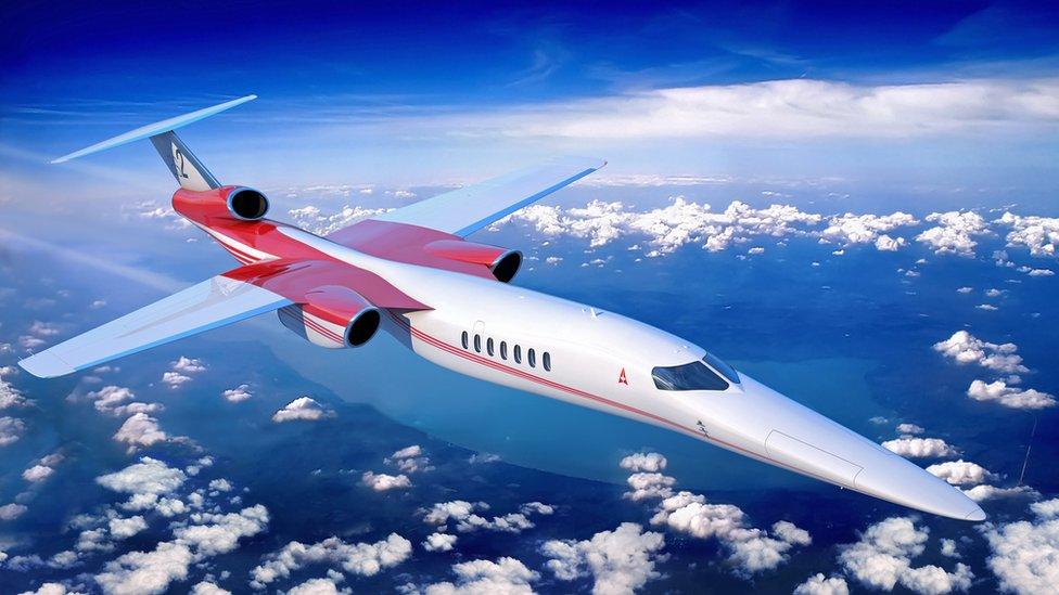 La empresa Aerion trabaja con Lockheed Martin and GE Aviation para construir un jet supersónico (Foto: Aerion).