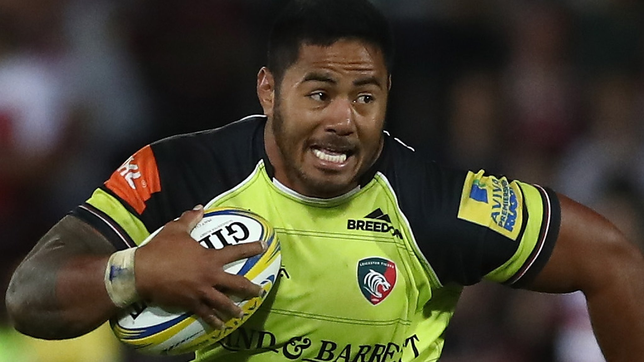Manu Tuilagi: Leicester centre set to miss England's autumn series