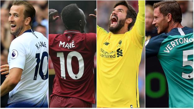 Premier League: Tottenham v Liverpool - pick your combined XI