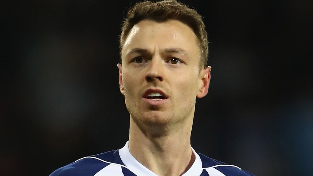 Jonny Evans: Captain set to leave West Brom in January