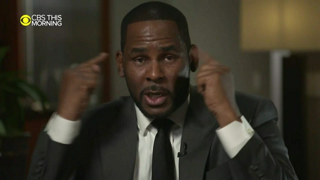 'This is not me!' R. Kelly tearfully denies sex abuse charges