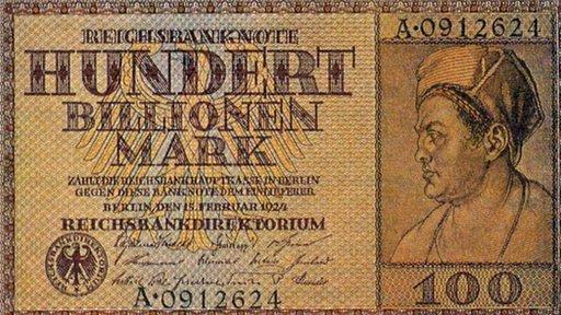 Después de la I Guerra Mundial el papel moneda perdió su valor en Alemania. (Foto cortesía de tomchao.com).