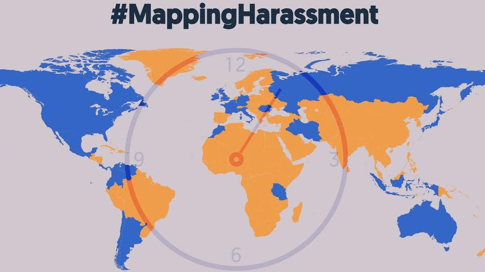#Mappingharassment: Your stories over 72 hours