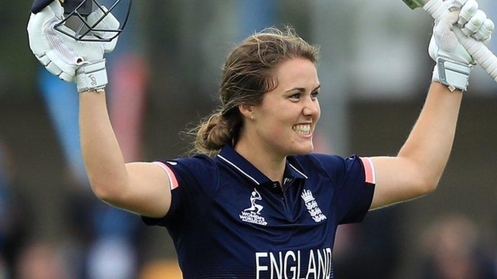 Women's World Cup 2017: England's Natalie Sciver scores brilliant century
