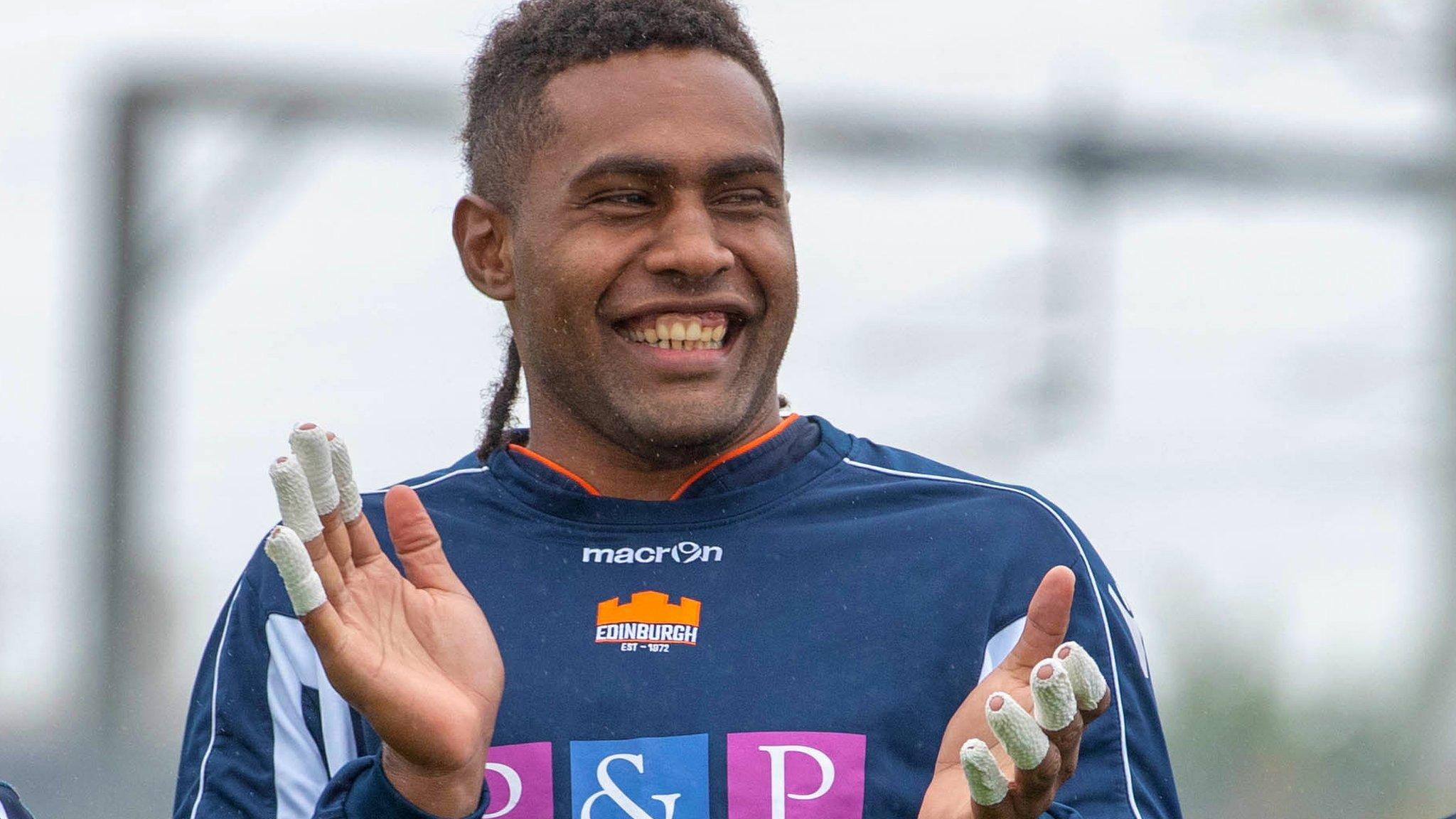 Viliame Mata: Edinburghs Fijian belatedly finding way in Scotland