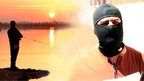Fisherman on the Euphrates, IS masked man