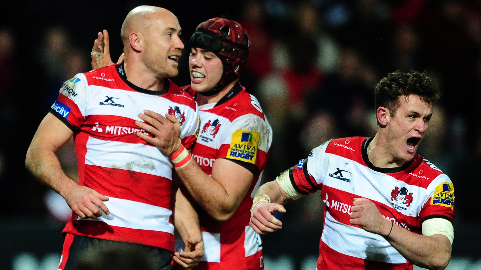 Gloucester rally to beat rivals Bristol