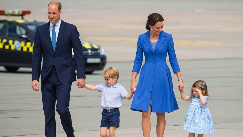 Royal baby: William and Catherine's third child due in April
