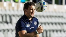 Scotland back-row forward John Hardie