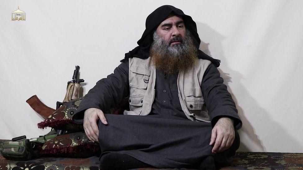 د 'داعش مشر' له پنځو کلونو وروسته ویډیو کې ښکاره شو