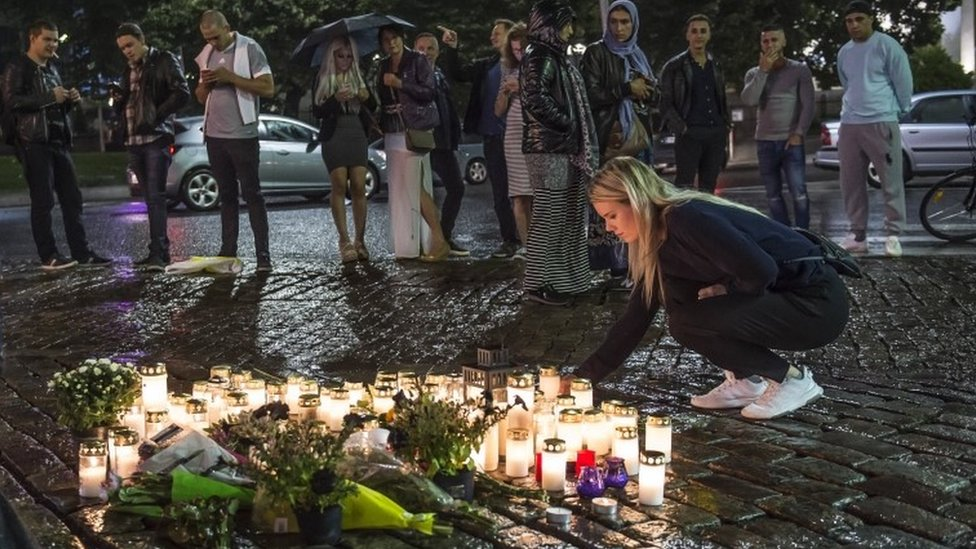 Finland killings: Stabbings in Turku a 'terror attack'