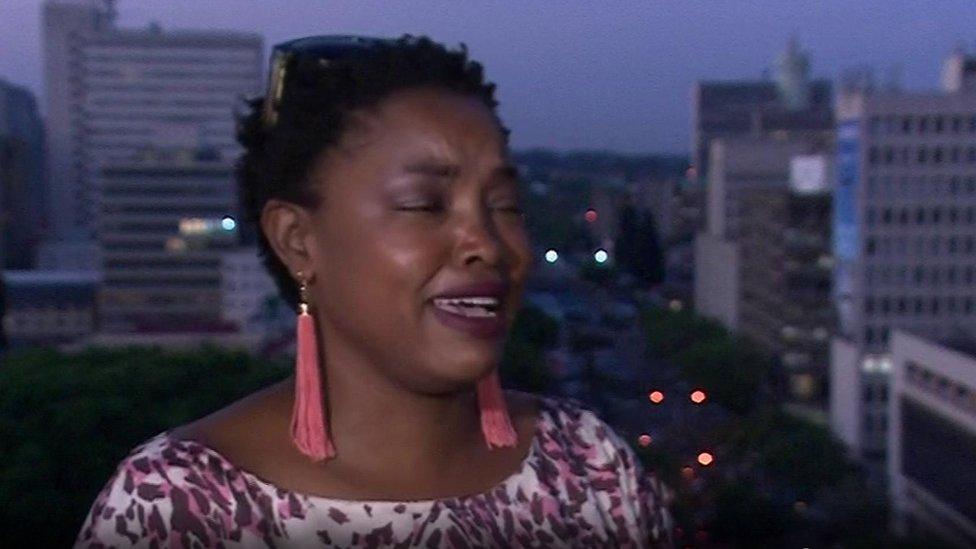 الناشطة المرشحة السياسية فيمباشي موسفابوري