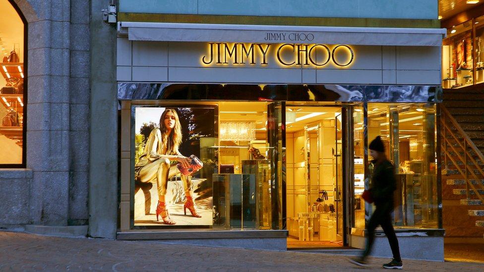Tienda de Jimmy Choo en Suiza