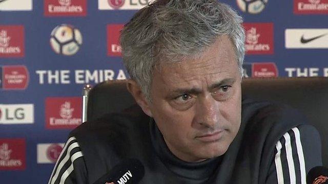 Jose Mourinho: Man Utd's impassioned 12-minute speech