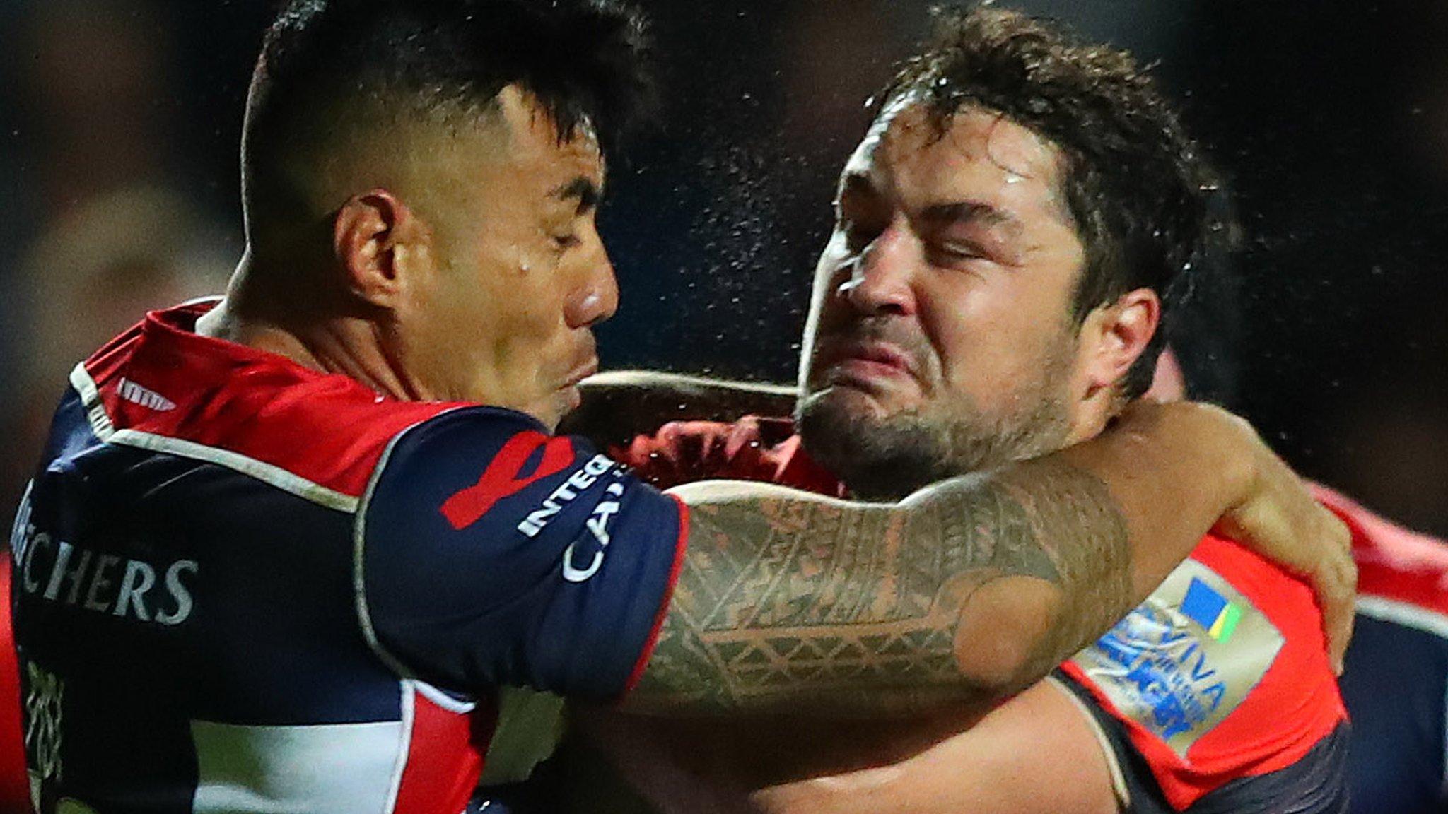 Saracens ease to victory at Bristol