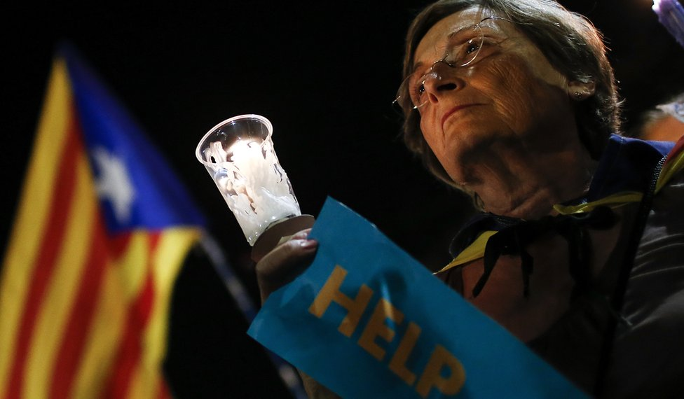 Cataluña advierte desobediencia civil vs. gobierno español