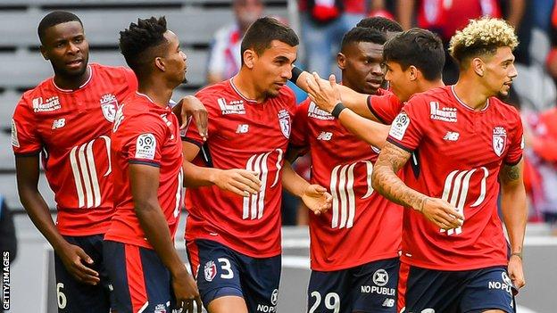 Lille venció al Nantes 3-0 en la primera fecha de la Ligue 1 la semana pasada.