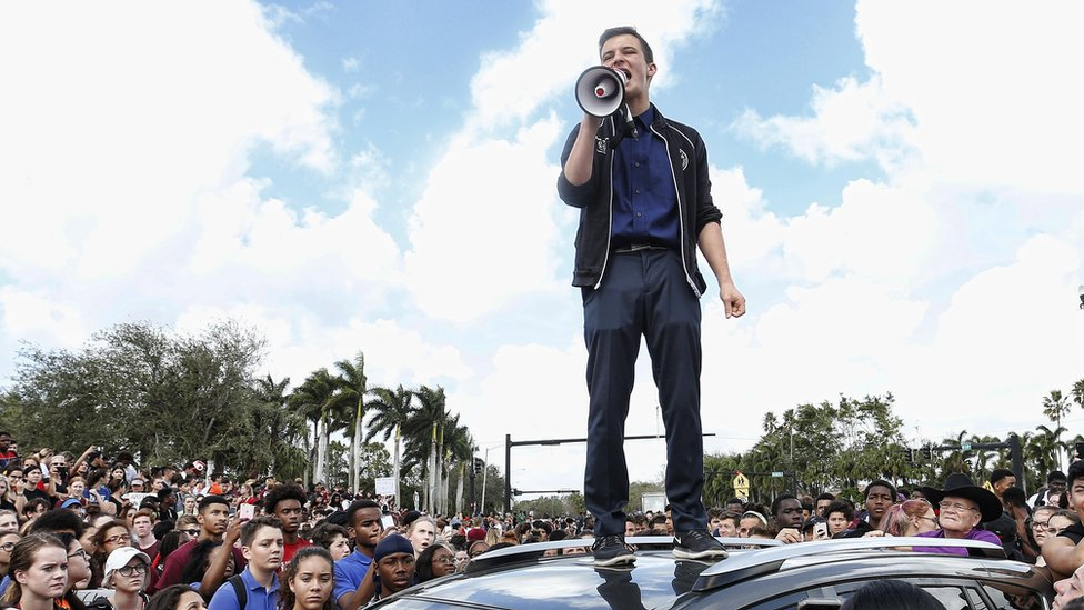 Florida shooting: How teenagers started a political campaign in 30 days