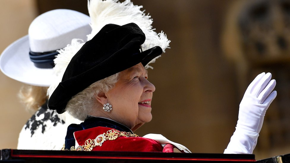 In pictures: Pomp and ceremony for Order of the Garter