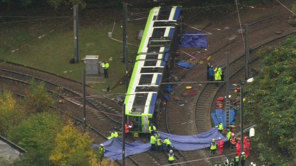 Croydon tram crash: Drivers 'fell asleep' on fatal line