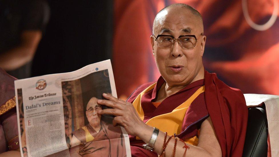 達賴喇嘛訪問藏南爭議地區 引發中印關係緊張