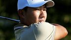 Sung shares PGA lead after round of 60