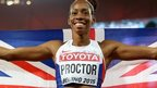 GBs Proctor wins long jump silver