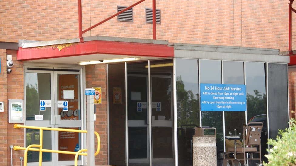 'Unsafe' A&E services halted in Stafford
