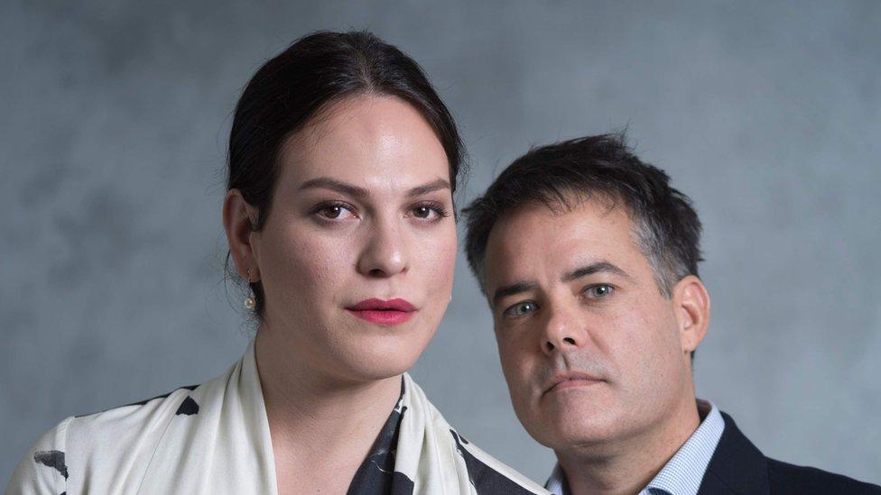 La actriz Daniela Vega y el director Sebastián Lelio