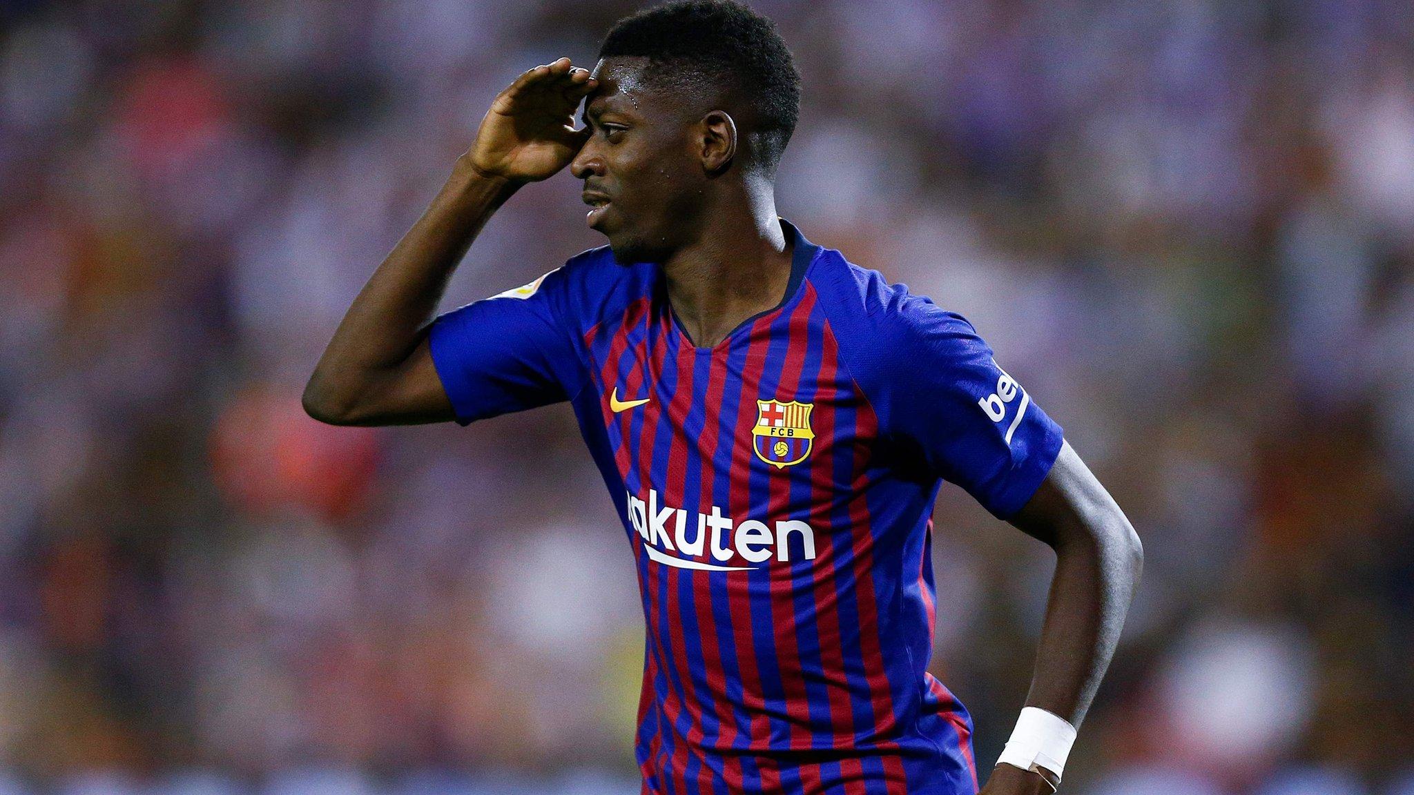 Dembele scores winner as Barcelona get late VAR reprieve