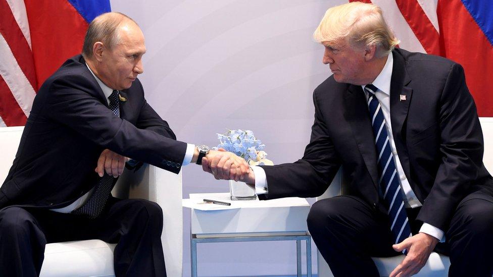 ترامپ از طرح تحریمهای روسیه، ایران و کره شمالی 'حمایت می کند'