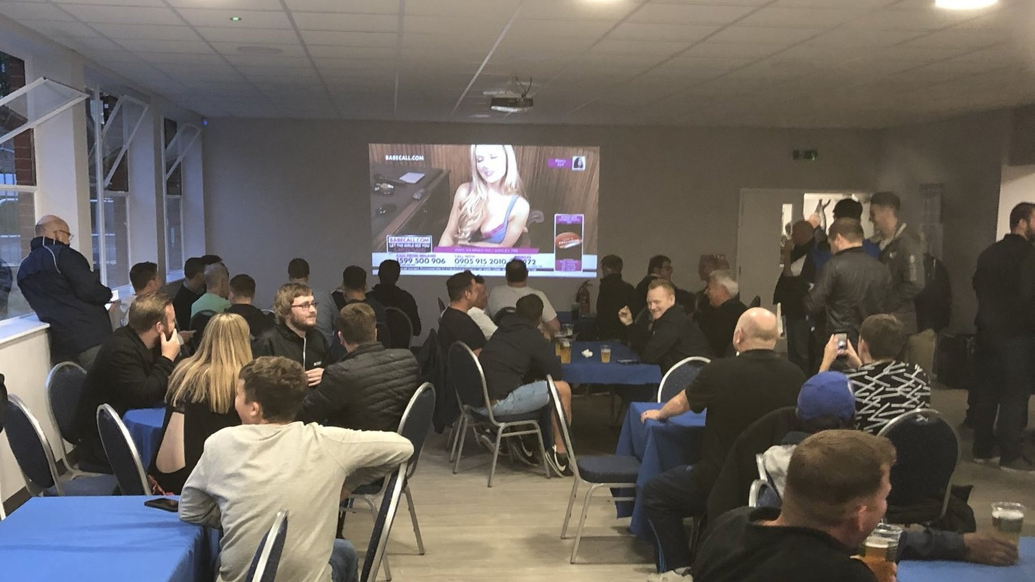 Babestation surprise for Bristol Rovers fans