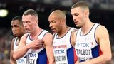 The GB men's 4x100m relay squad