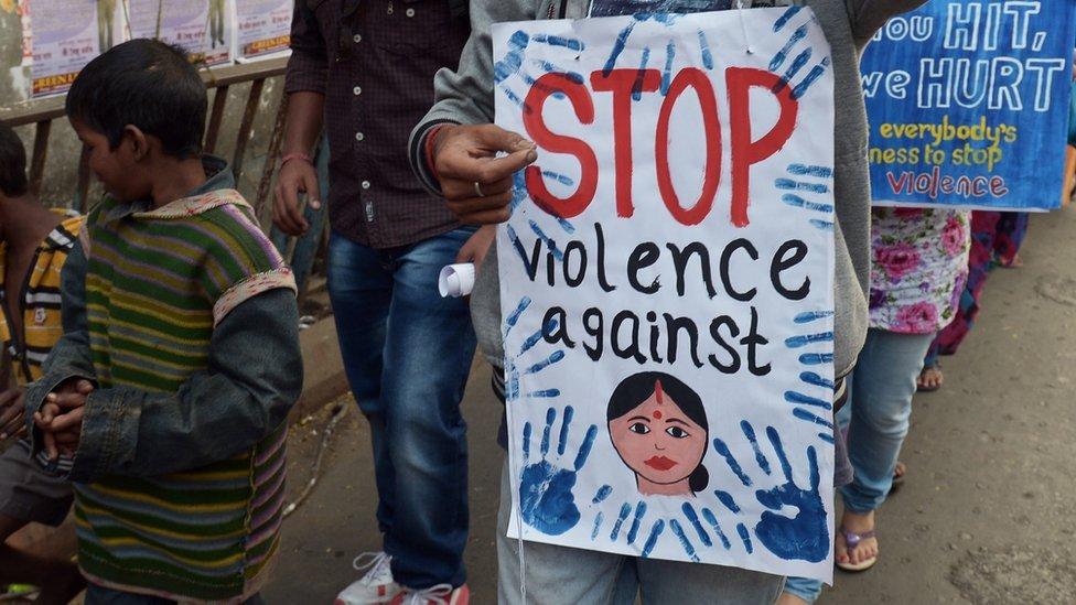 Protesta en India