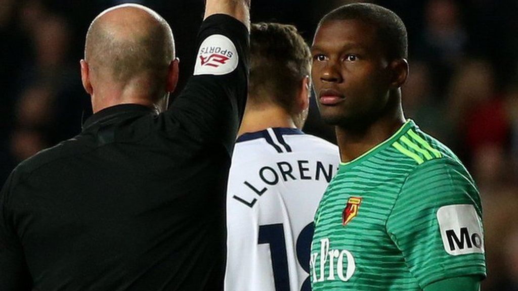 Watford's Kabasele has red card overturned