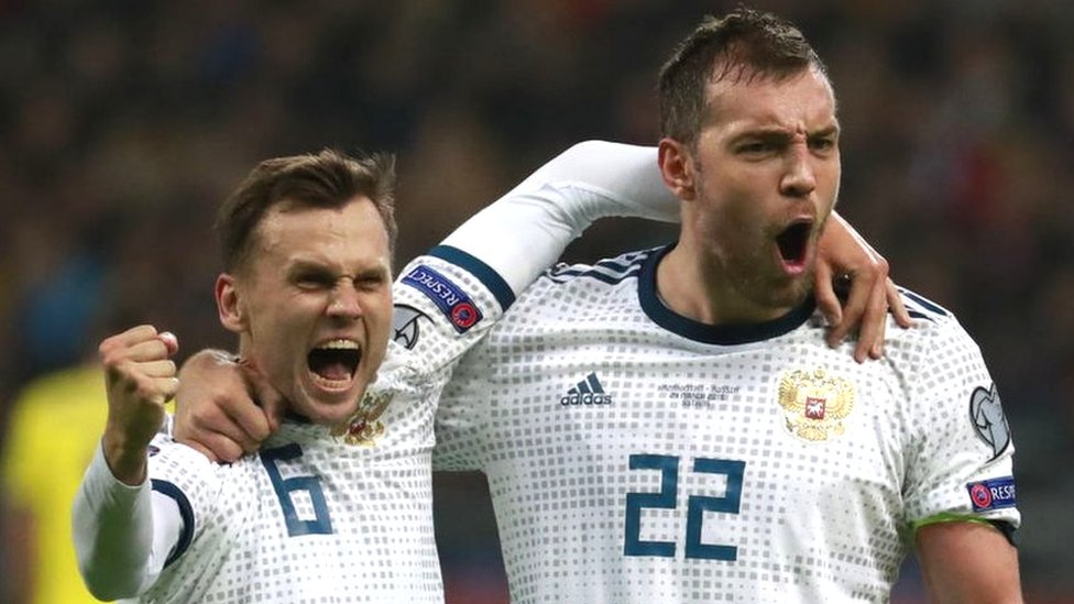 Отбор на Евро-2020: сборная России по футболу разгромила Казахстан 4:0