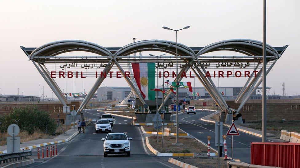 حظر الرحلات الدولية كان جزءا من العقوبات على الإقليم